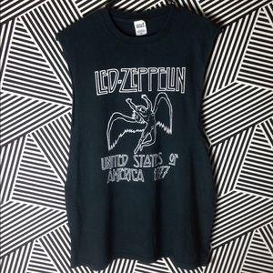 Led Zeppelin Sleeveless vintage style shirt